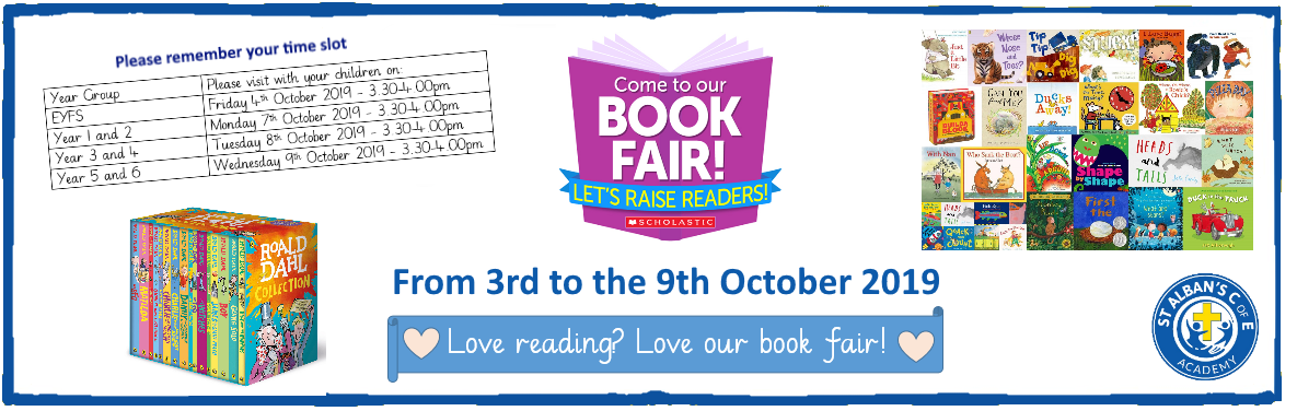 St Alban's Book Fair 3rd - 9th Oct