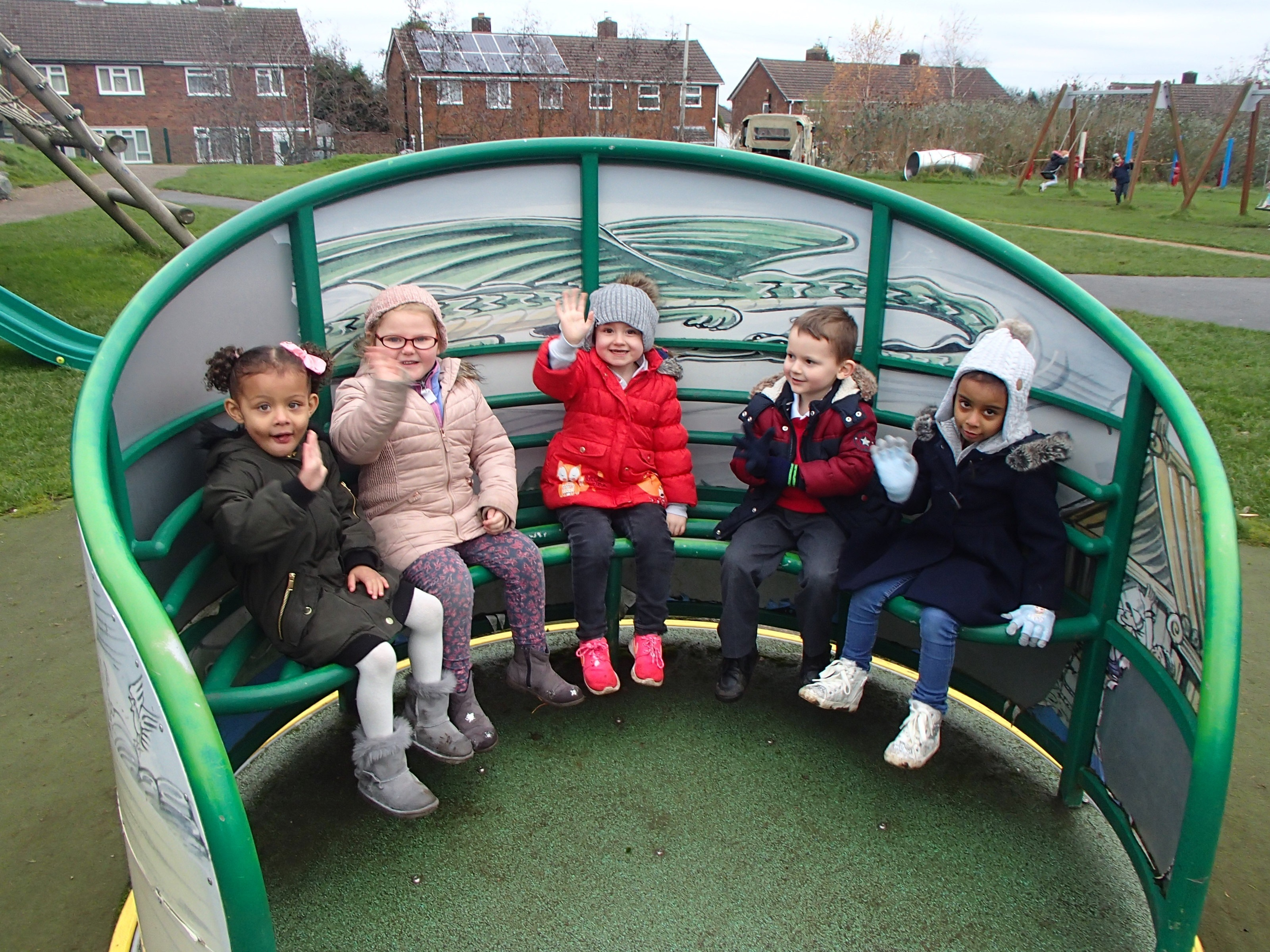 Early Years trip to Sycamore Adventure Centre